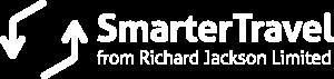Smarter Travel logo in white